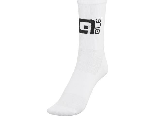 Alé Cycling Q-Skin High Socks white